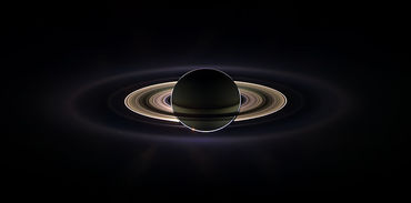 Saturn Eclipse Cassini-Huygens