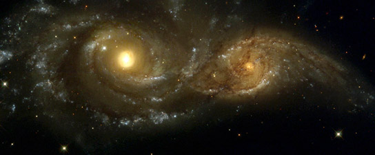 CosmoCaixa, Barcelona, Antonio Arias, Caballero, Multiverso, galaxias interactuantes